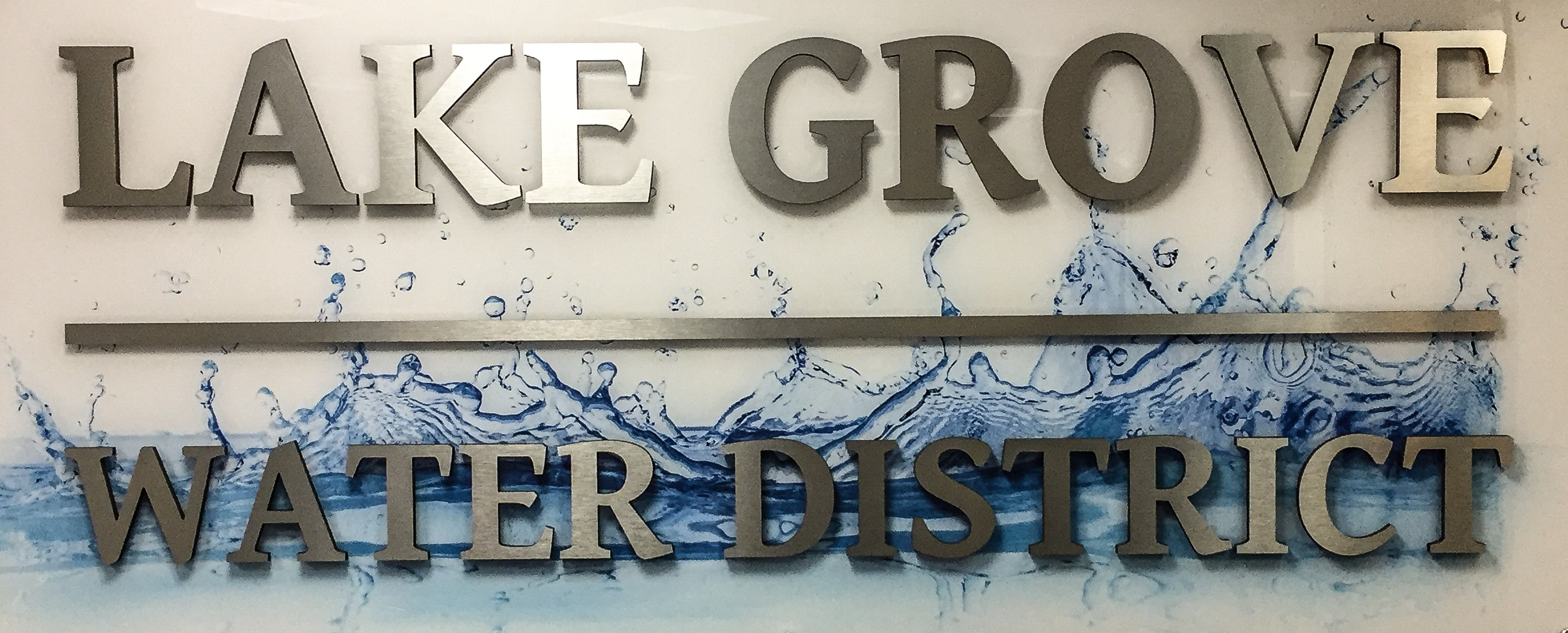 Lake Grove Water Logo